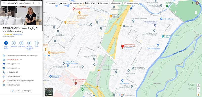Google My Business - Webagentur und Webdesign München